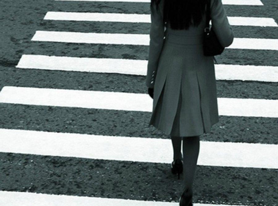 ВБрянске напереходе лихач сбил девушку и исчез  сместа ДТП