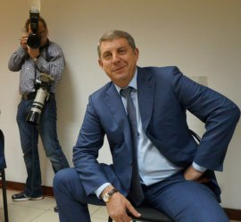 Брянский губернатор появился с оружием на телеканале НТВ