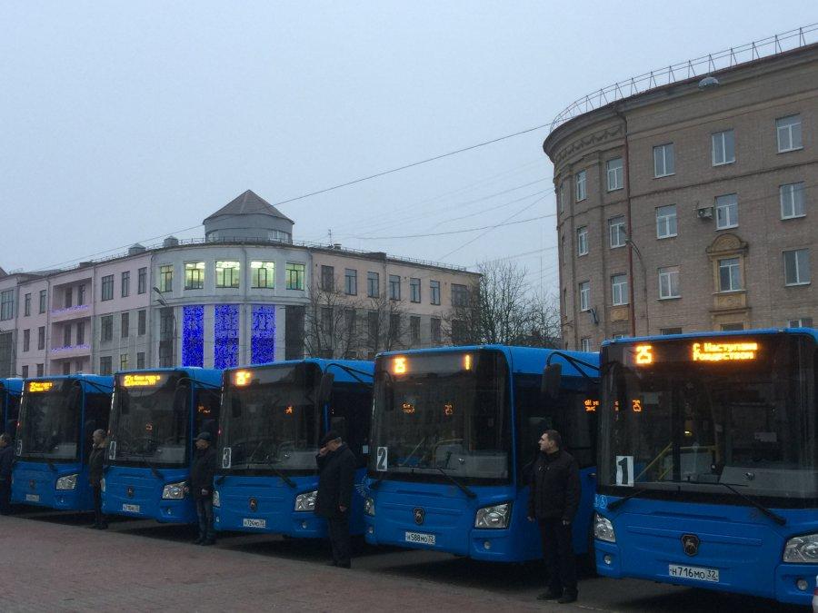 Новые автобусы отгубернатора сегодня вышли врейс