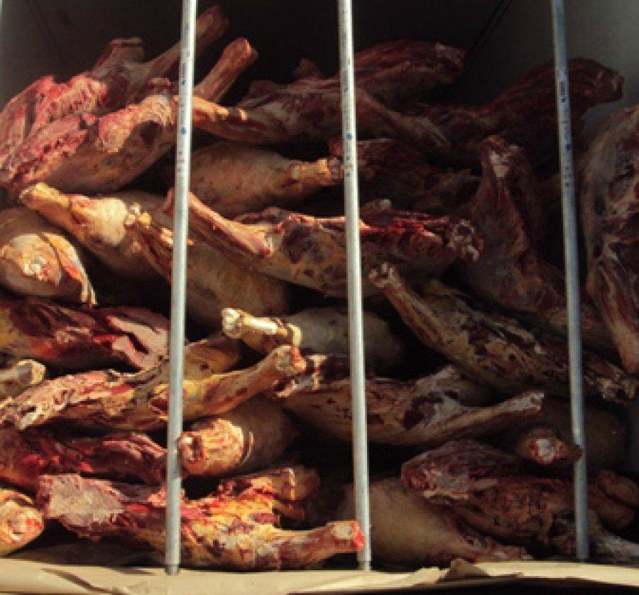 Смоленские пограничники вернули в Беларусь 19 тонн замороженной говядины