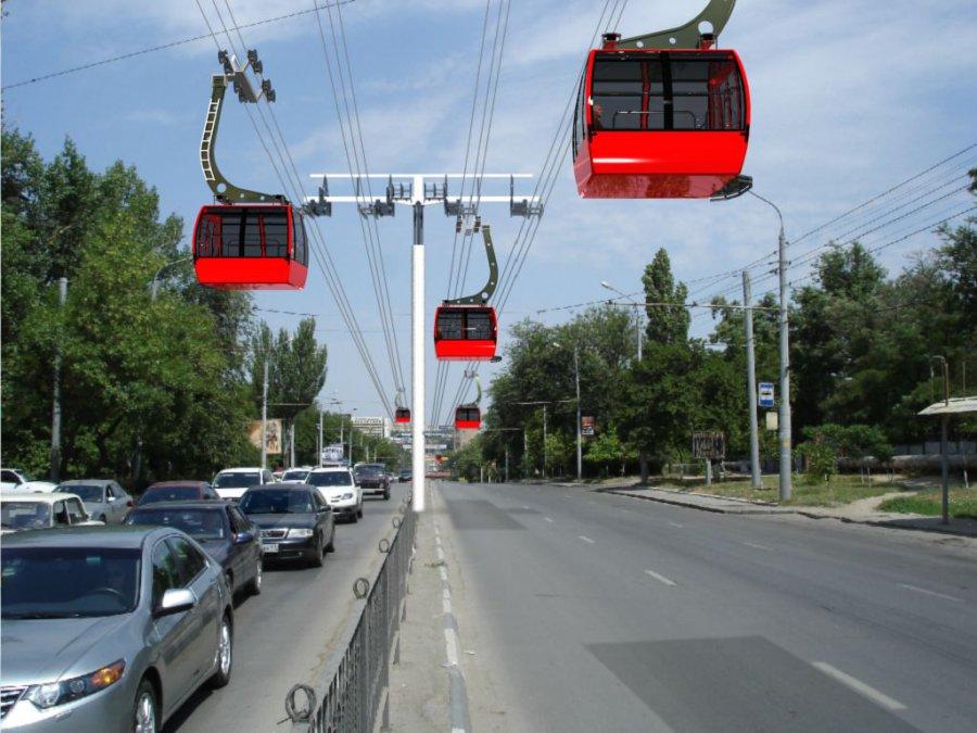 Над Брянском предложили построить канатное метро