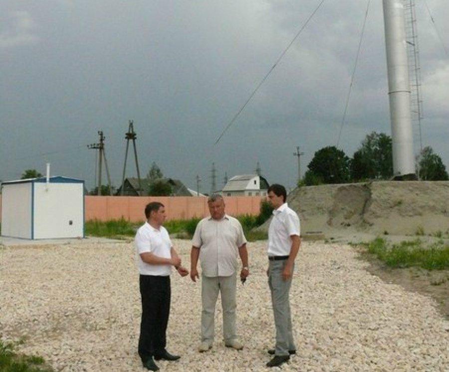 В поселке Радица-Крыловка решается вопрос с водоснабжением