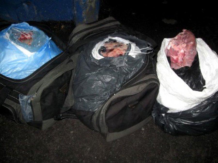 Смоленские профессионалы облили зелёнкой 5 тонн белорусского мяса