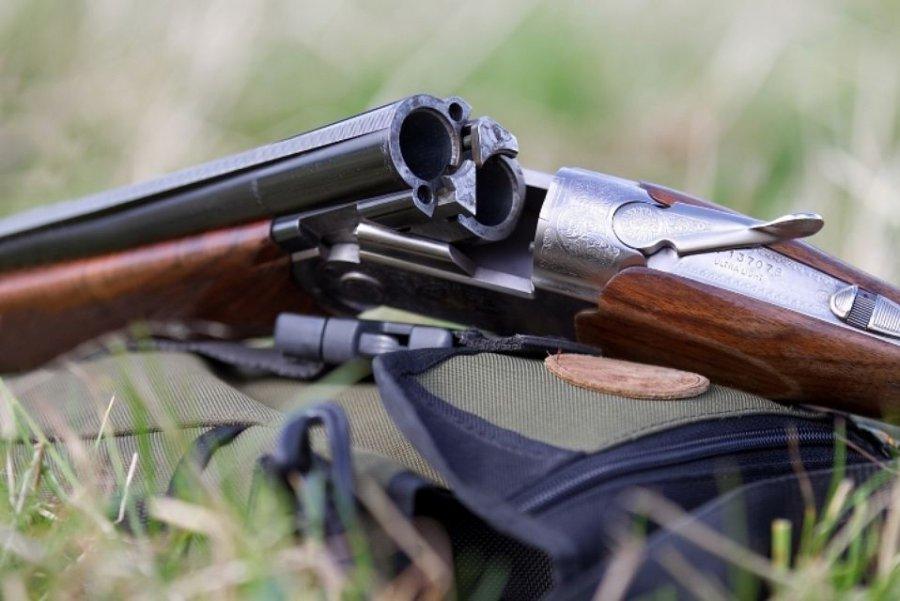 Прежний  зять похитил  убрянца оружие ибоеприпасы
