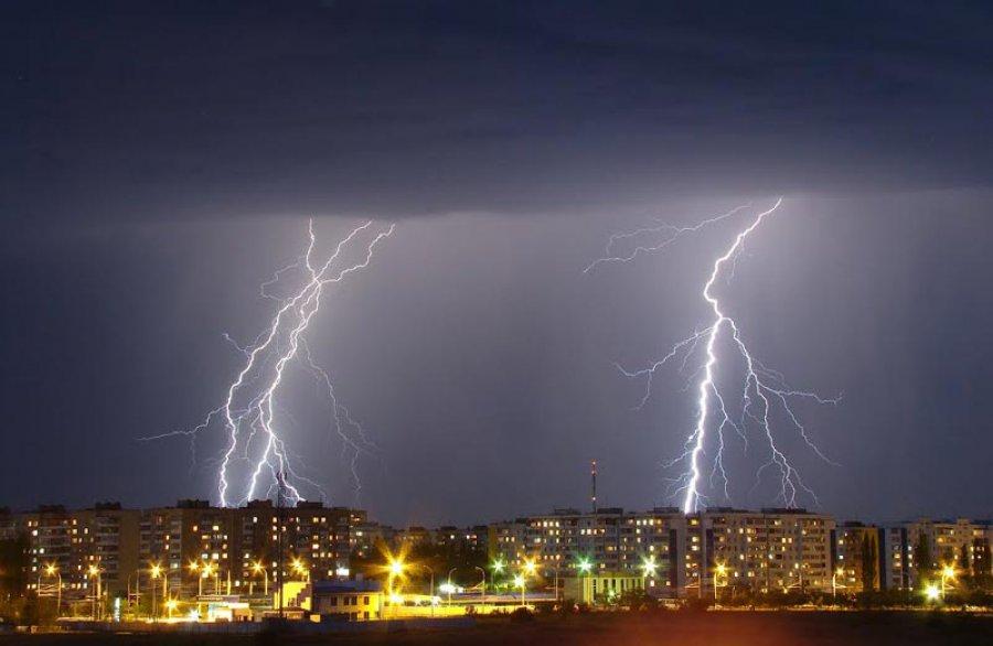 Штормовое предупреждение: ВЧечне ожидаются ливни сгрозой иградом