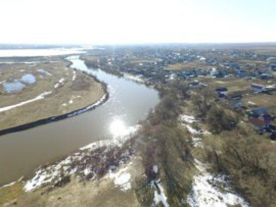 ВБрянске засутки вода вДесне поднялась на24 сантиметра