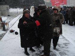 Митинг КПРФ в Брянске завершился скандалом