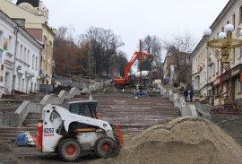 В Брянске власти Пензы поразились ремонту лестницы на бульваре Гагарина