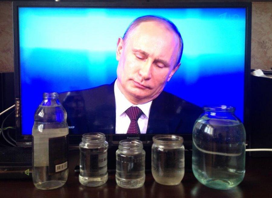 Художница из брянского села просит у Путина воду