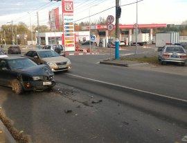 В Брянске из-за ДТП на Калинина возникла большая пробка