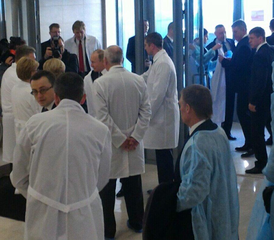 В Брянске Путин пообщается с работниками Перинатального центра