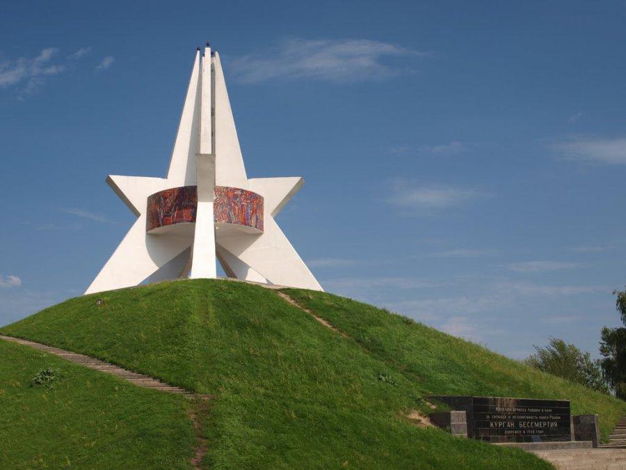 ВБрянске наКургане Бессмертия отреставрируют памятную Звезду