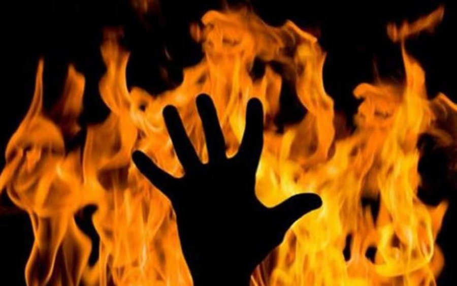 ВБрянской области нетрезвый мужчина сжёг супругу из-за обиды