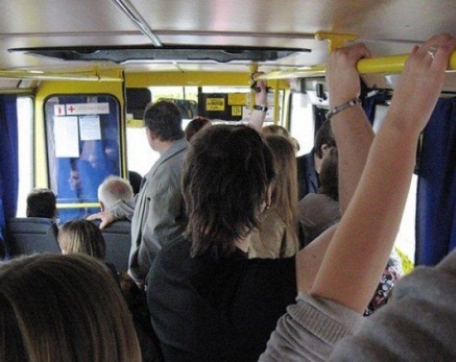 Вбрянском автобусе из-за торможения разбились девушка ипенсионерка