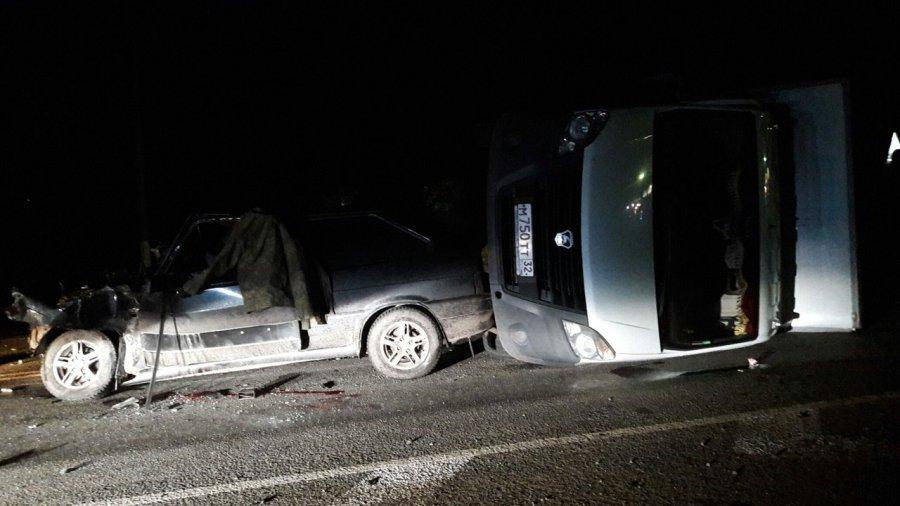 В ужасной трагедии под Новозыбковом погибли два человека