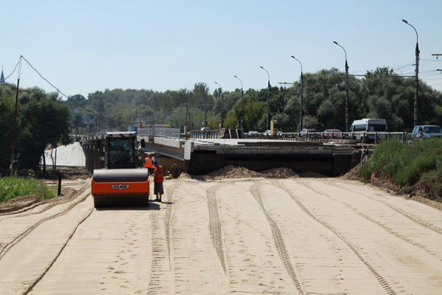 Первомайский мост: подрядчиков призвали ускорить работы