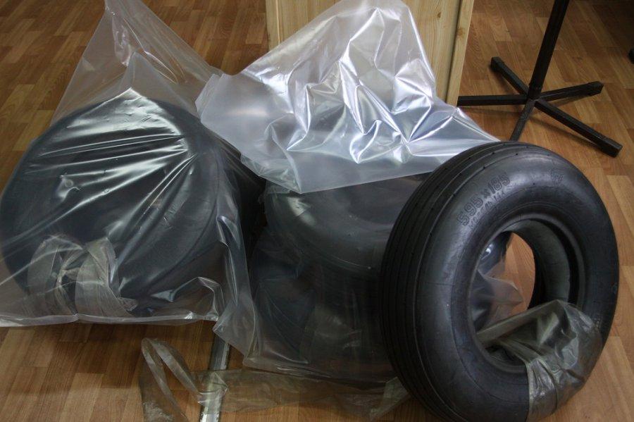 Брянские пограничники недали вывезти запределыРФ авиационные шины