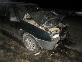 Под Брянском 75-летний автомобилист протаранил ВАЗ