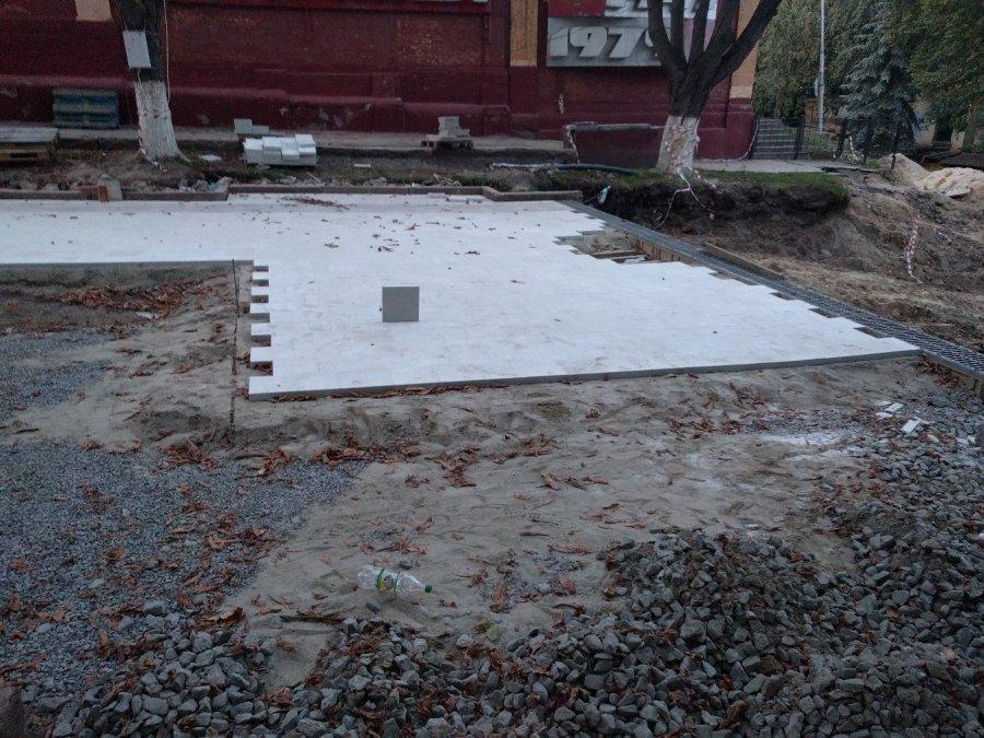 Первая ступень легла воснование будущей лестницы набульваре Гагарина вБрянске