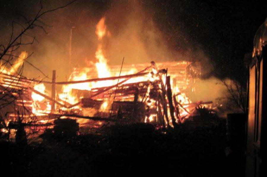 Пожарные устранили возгорание вБрянском районе