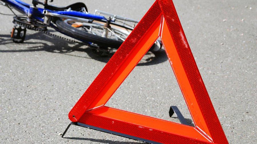 Шофёр автобуса сбил велосипедиста
