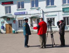 За паводком в Брянске следят при помощи беспилотника