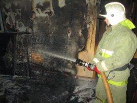 В Климове горела квартира: есть пострадавший
