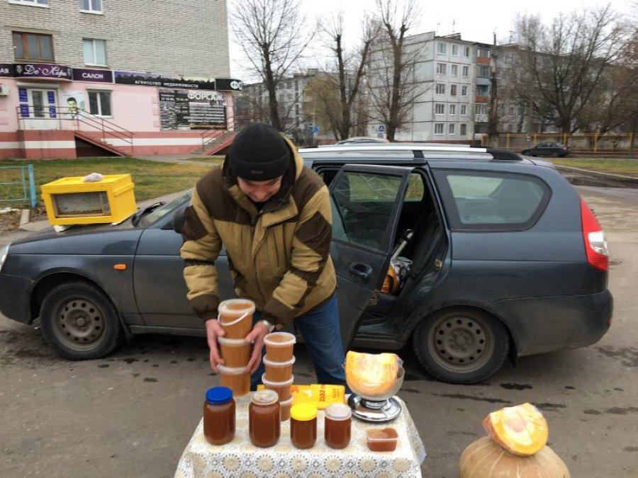 На дорогах Брянска торговали рыбой спаразитами