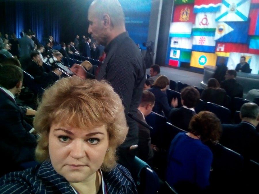 Навстречу сВладимиром Путиным прибыли два брянских корреспондента