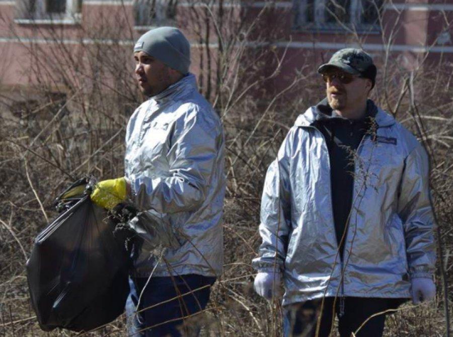 Корреспонденты начали эстафету чистоты наБрянщине
