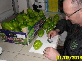 В Брянскую область не пустили 17 тонн турецкого перца