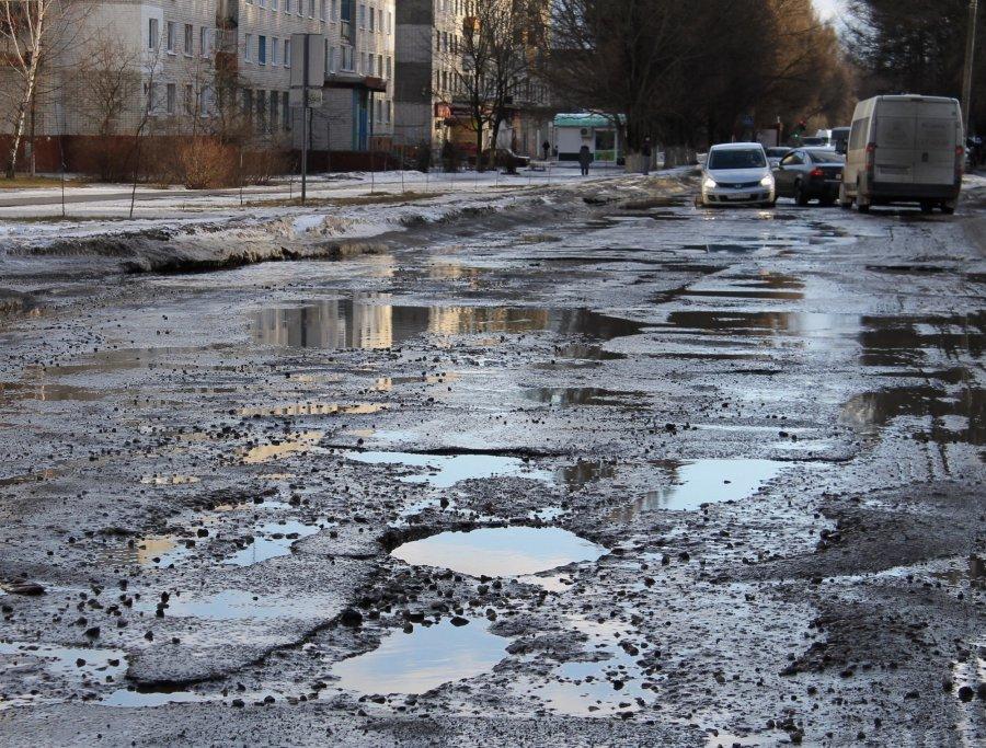 Ремонт дорог продолжится вовсех районах Брянска