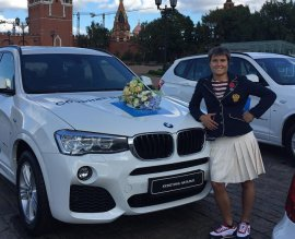 Брянская дзюдоистка Кузютина продала олимпийский BMW X3 за 2,5 млн. рублей