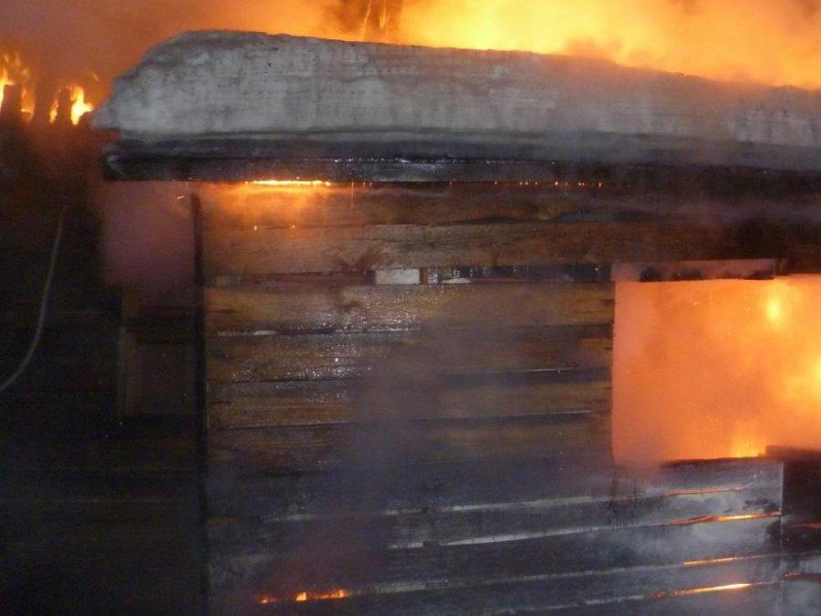ВКлимовском районе впожаре умер мужчина