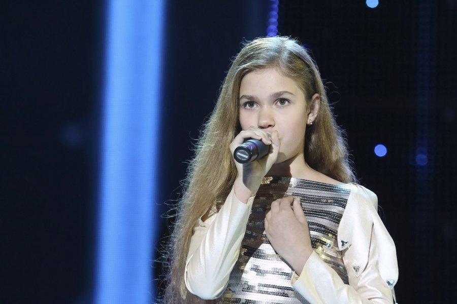 Настя Гладилина изБрянска угодила наслепые прослушивания в«Голос. Дети»