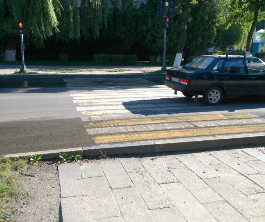ВБрянске шофёр наиномарке сбил напешеходном переходе пенсионерку