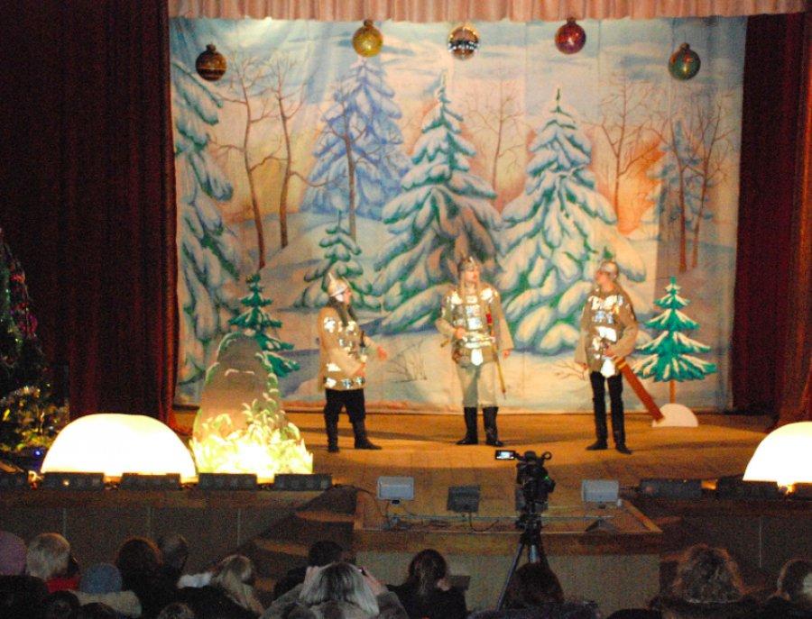 Пьесу «Дед Мороз итри богатыря «показали вТрубчевске Брянской области