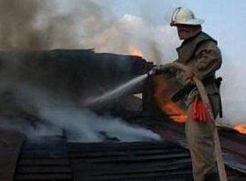 В Карачевском районе горела дача