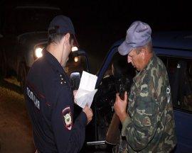 Брянские полицейские провели облаву на браконьеров