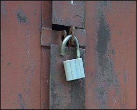 Дубровские школьники обворовали гараж