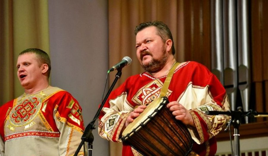 Брянская «Ватага» дала концерт вДонецке