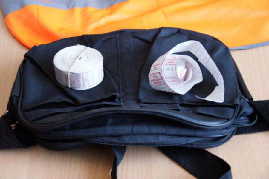 Нетрезвый брянец вырвал из сумочки кондуктора 1,5 тыс. руб.