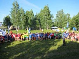 Под Брянском проходит фестиваль молодёжи «Лесное раздолье»