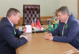 Волгоградский губернатор Бочаров вернулся в Брянск