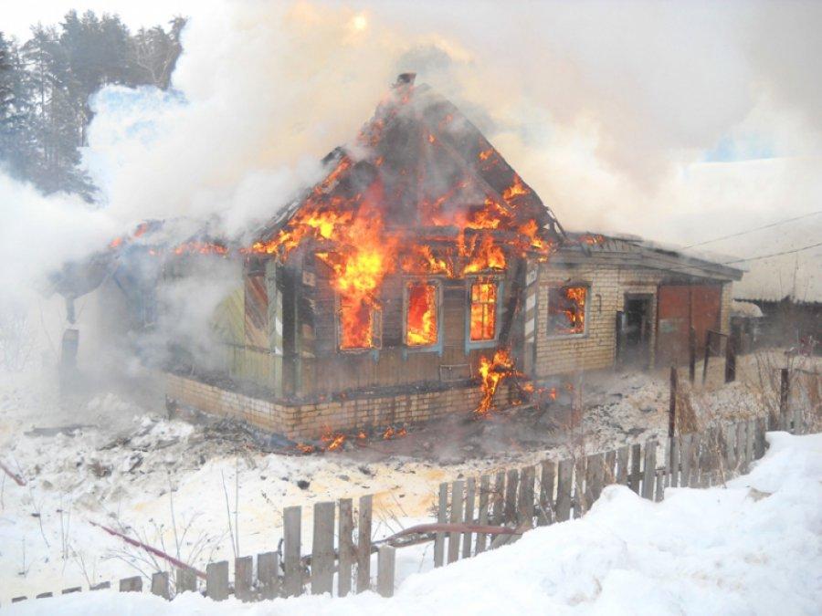 Впожаре вБрянске погибли два человека