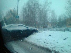 В Брянске в ДТП на Костычева никто не пострадал
