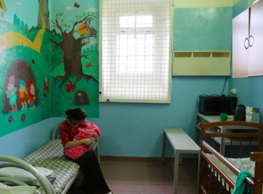 В брянском СИЗО появилась новая камера для женщин с детьми
