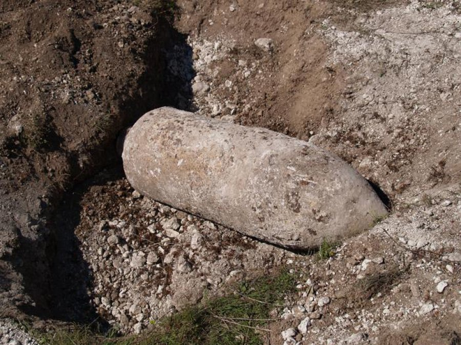Вбрянском лесу наокраине Фокинки отыскали  50-килограммовую бомбу