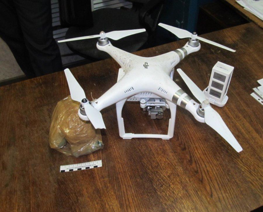 Вбрянской ИК-6 сбили дрон стелефонами инаркотиками для зеков