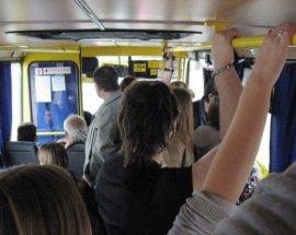 В Брянске на Стальзаводе женщина упала в маршрутке